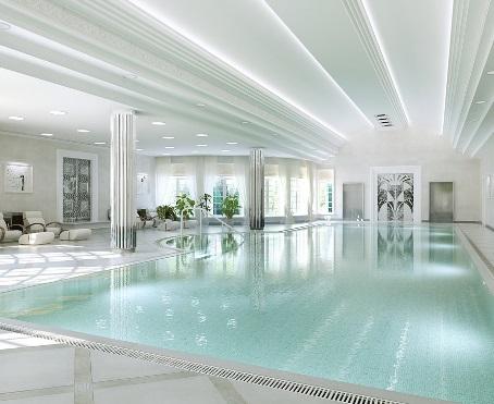 белый бассейн в геленджике