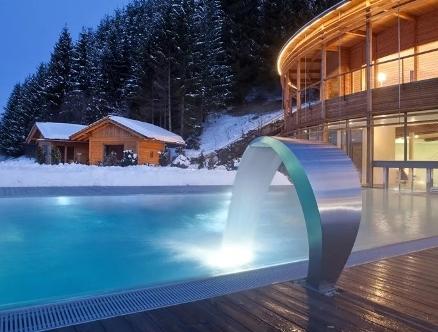 бассейн на улице зимой