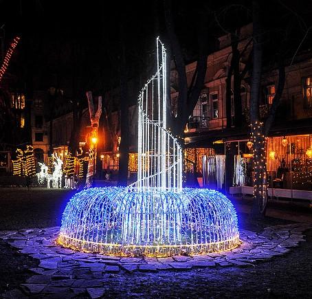 фонтаны в геленджике