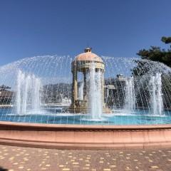 Городской фонтан, село Кабардинка